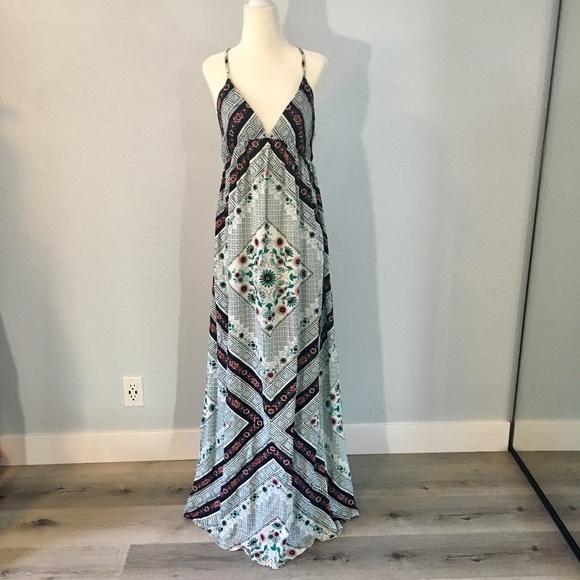 ac0acc8ef O'Neill Dresses   Oneill Crossback Boho Maxi Dress   Poshmark